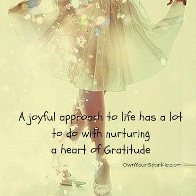 Nurturing a heart of gratitude